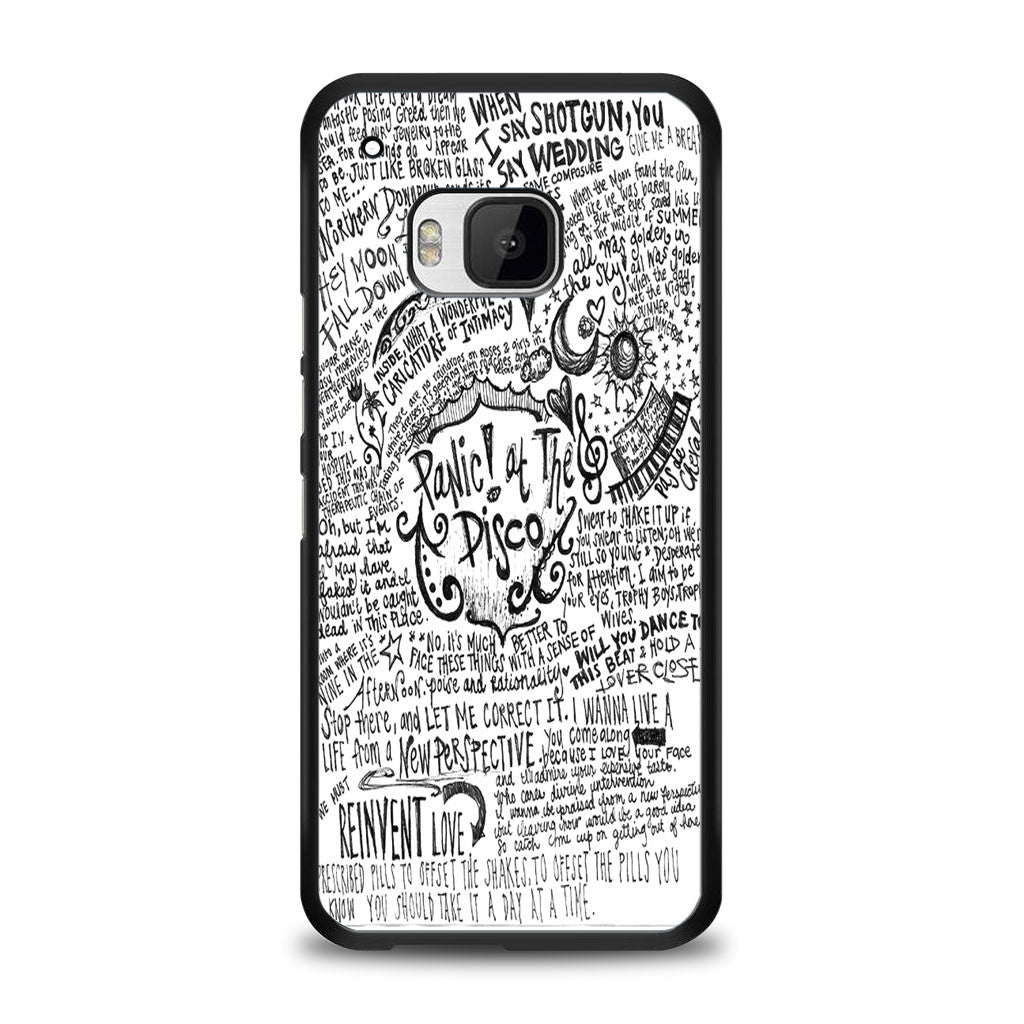 Panic! At The Disco Lyric 3 Cover Samsung Galaxy S7 Edge Case | yukitacase.com