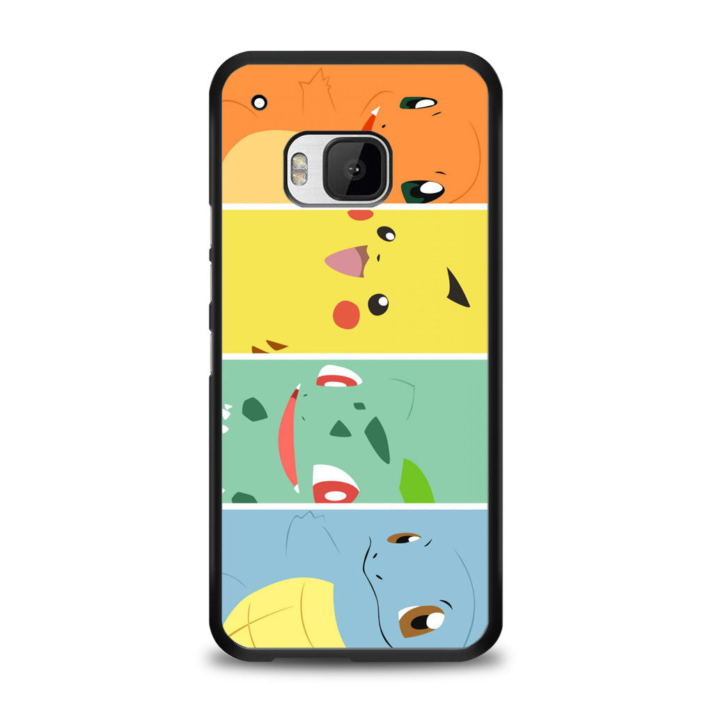 Pokemon Black Bulbasaur,Squirtle & Charmander,Pikachu Samsung Galaxy S6 Edge Plus Case | yukitacase.com