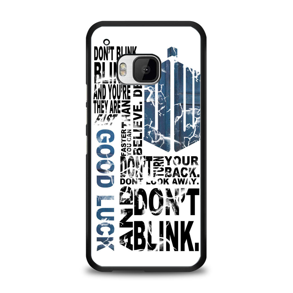 Police Box Tardis Doctor Who Don't Blink Samsung Galaxy S7 Edge Case | yukitacase.com