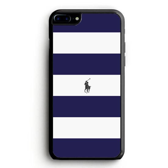 Polo Ralph Lauren Navy Blue Stripe iPhone 6 Case | yukitacase.com