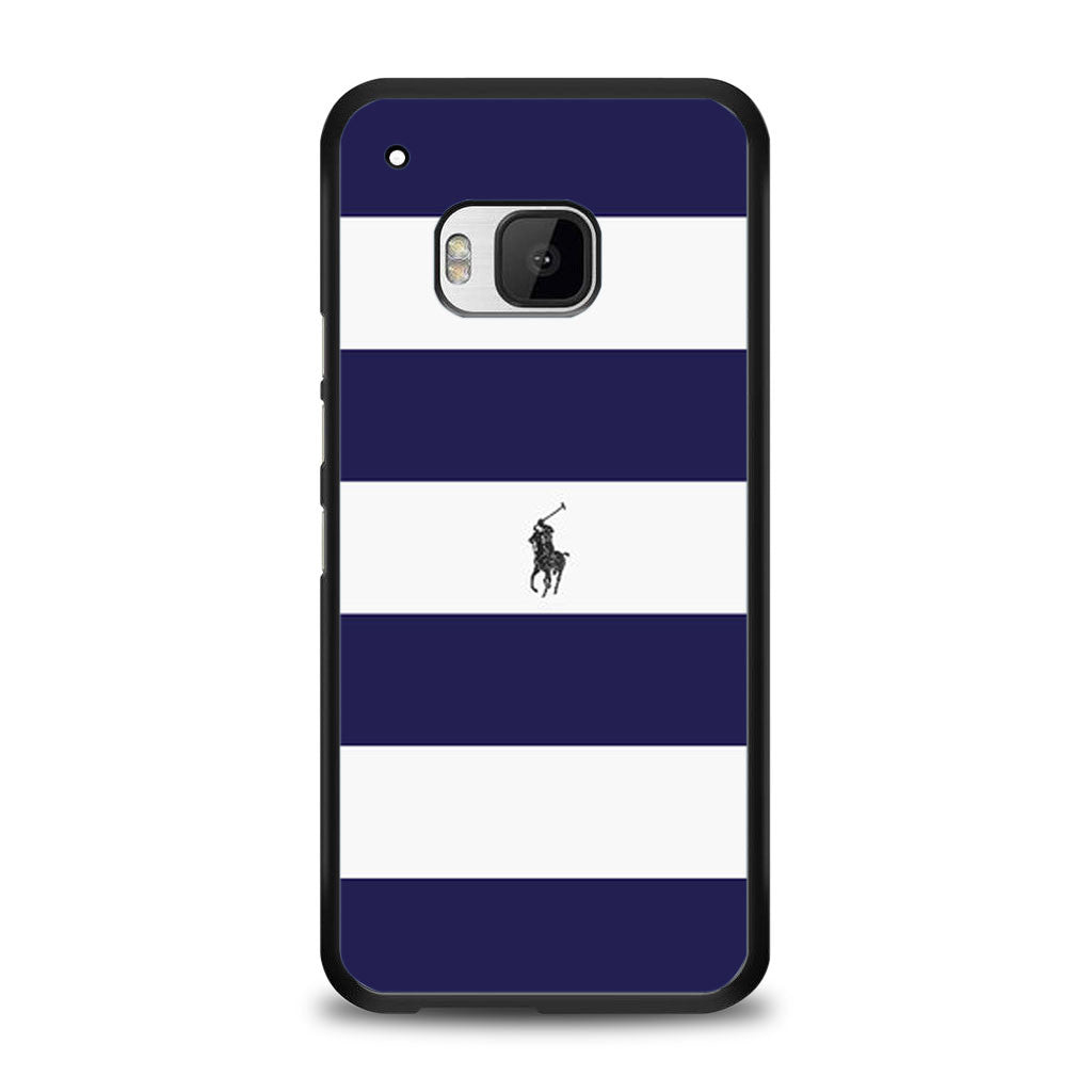 Polo Ralph Lauren Navy Blue Stripe Samsung Galaxy S6 Case | yukitacase.com