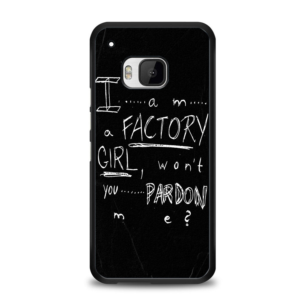 Pretty Reckless - Factory Girl Lyric Cover Samsung Galaxy S6 Case | yukitacase.com