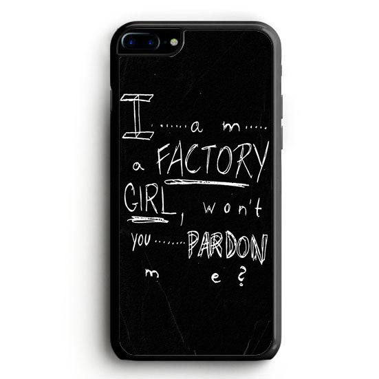 Pretty Reckless - Factory Girl Lyric Cover iPhone 6 Case | yukitacase.com