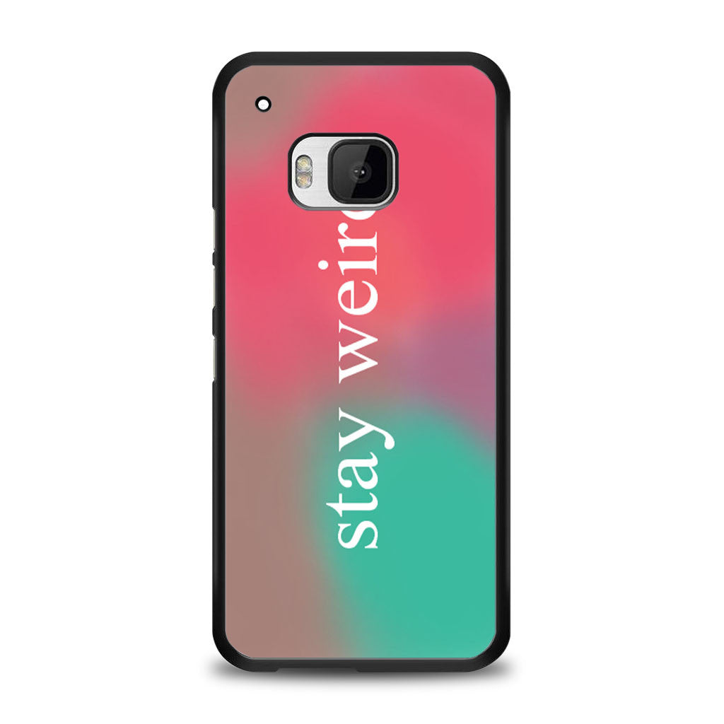 Stay Weird Funny Pink and Green Ombre Cute Tumblr Samsung Galaxy S6 Edge Plus Case | yukitacase.com