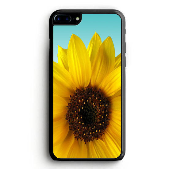 Sunflower Cute Flower Tumblr Inspired Blue Ombre iPhone 6 Case | yukitacase.com