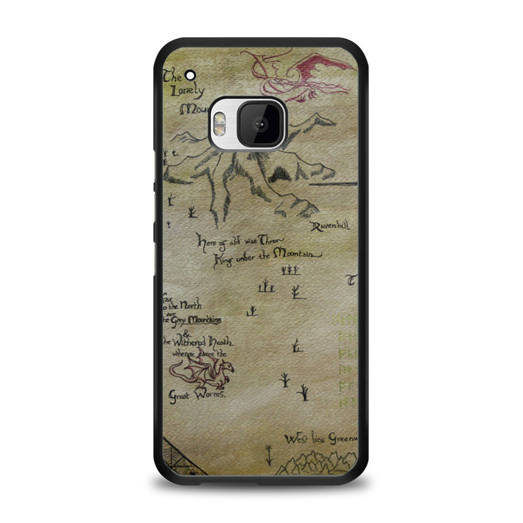 The Hobbit Lonely Mountain Map Samsung Galaxy S6 Edge Plus Case | yukitacase.com