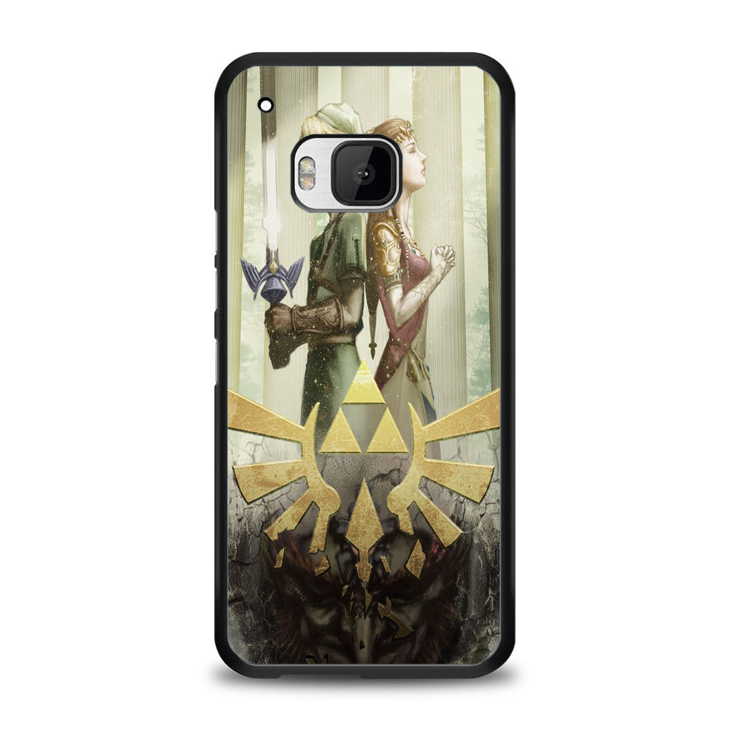 The Legend Of Zelda Triforce Gold Samsung Galaxy S7 Edge Case | yukitacase.com