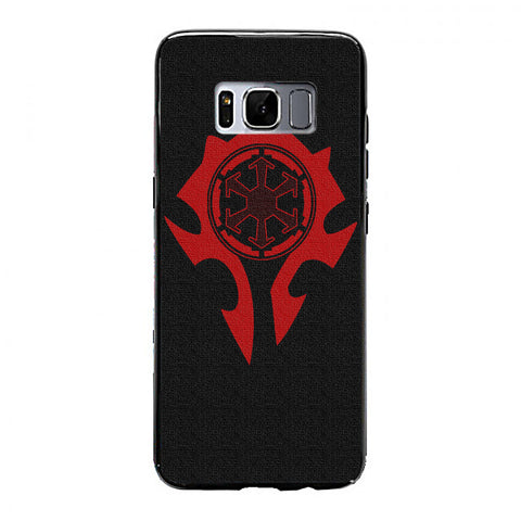 World of Warcraft Horde Samsung Galaxy S8 Case | yukitacase.com