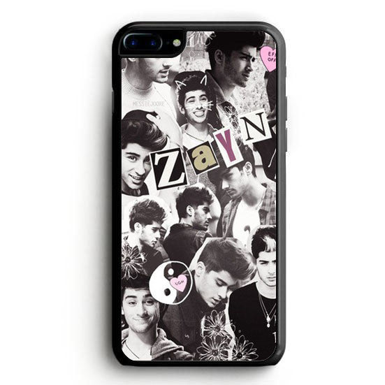 Zayn Malik blackwhite collage iPhone 7 Case | yukitacase.com