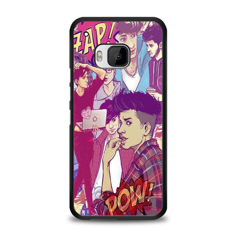 Zayn Malik collage cartoon Samsung Galaxy S7 Edge Case | yukitacase.com
