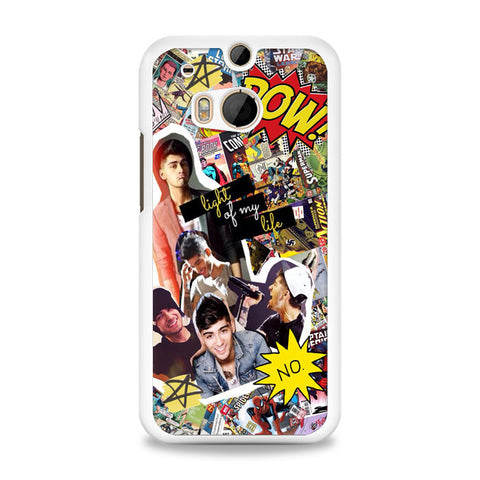 Zayn Malik comic collage HTC One M8 Case | yukitacase.com