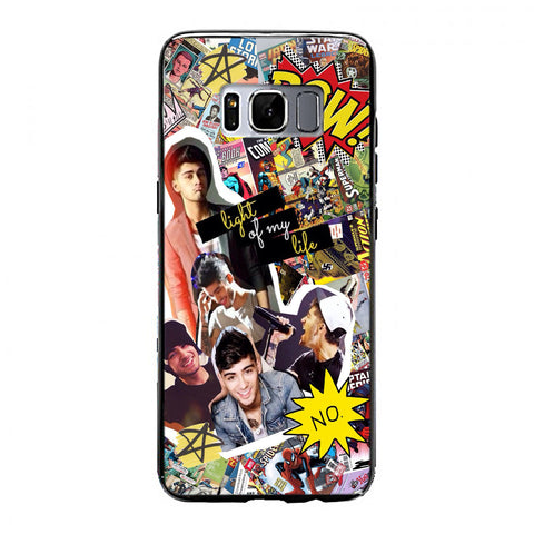 Zayn Malik comic collage Samsung Galaxy S8 Case | yukitacase.com