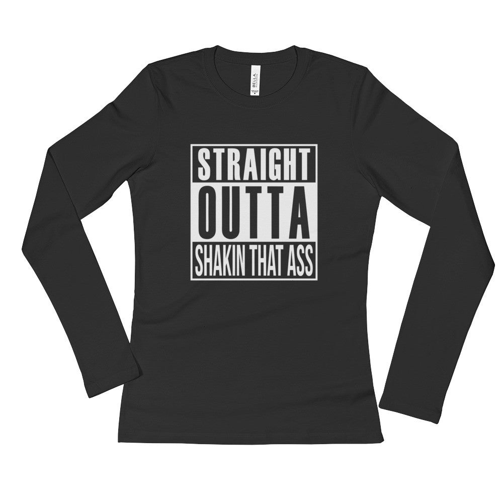 """Straight"" Long Sleeve T-Shirt"