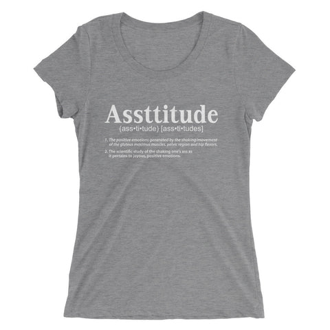 """Asstitude"" Short Sleeve T-shirt"