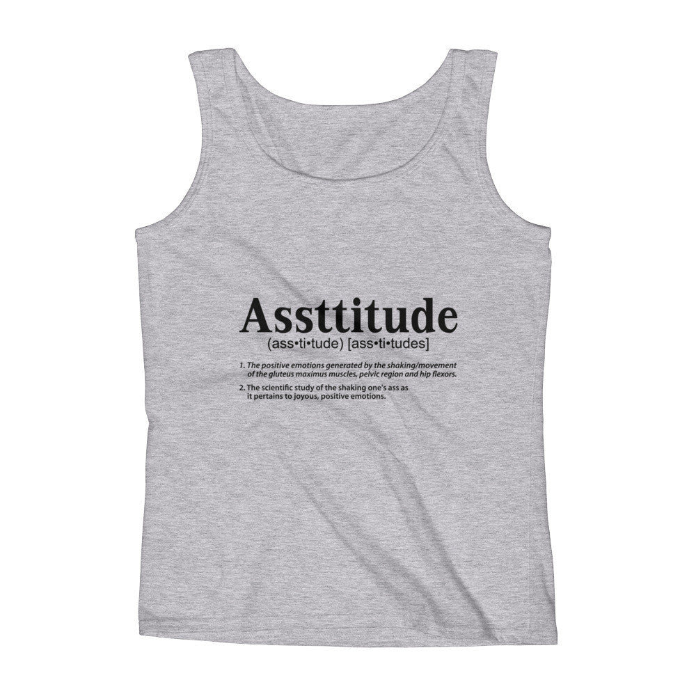 Ladies' Asstitude Tank