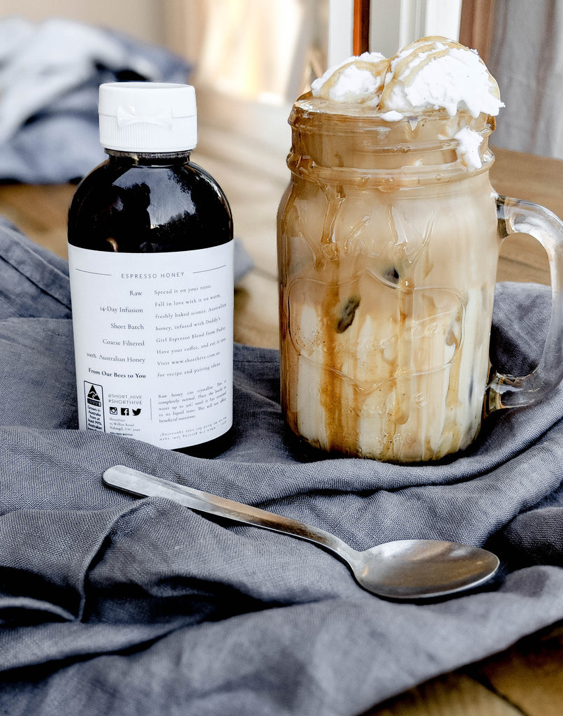 Espresso Infused Honey