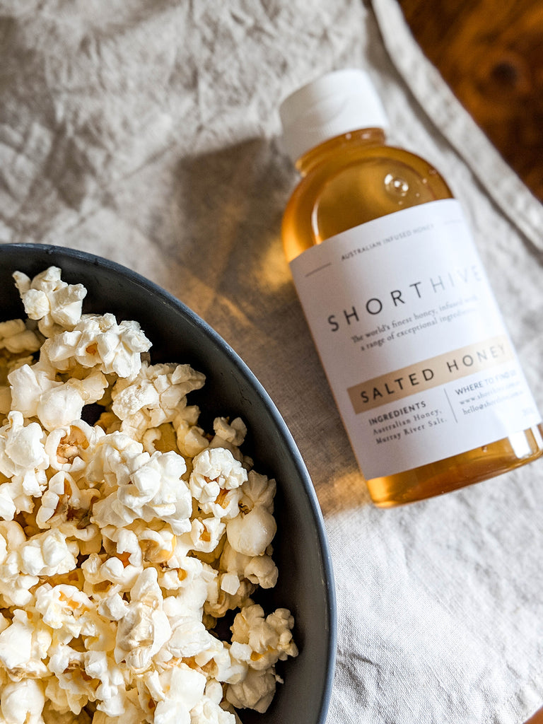 ShortHive Pairing Idea - Salted Honey and popcorn