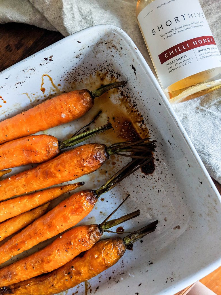 ShortHive Honey + Roasted Carrots