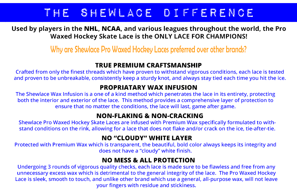 The Shewlace Difference