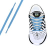 Baby Blue Oval Athletic Lace