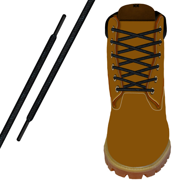 Black Kevlar® Xtreme™ Round Boot Lace