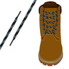 Black & Grey Heavy-Duty Pro Boot Lace