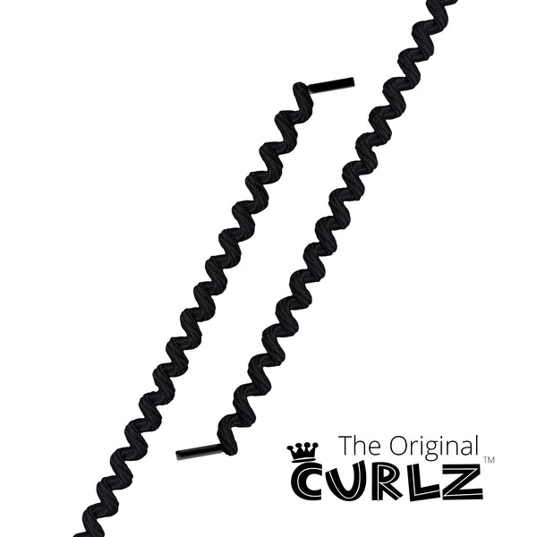 Black Curlz™ No-Tie Lace