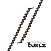 Brown Curlz™ No-Tie Lace