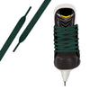 Forest Green Pro Waxed Hockey Skate Lace