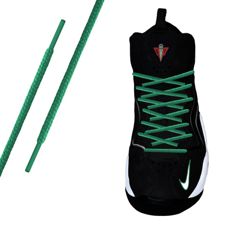 Green Round Athletic Lace