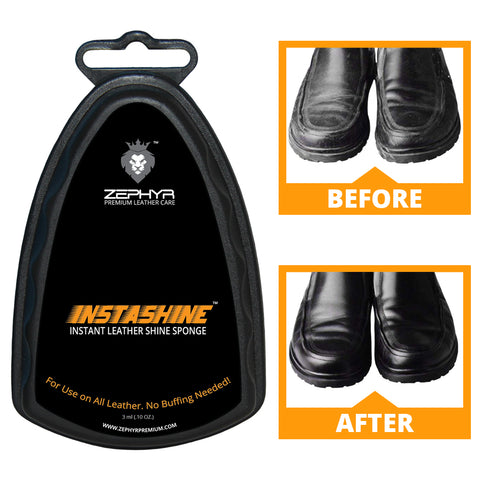 INSTASHINE Instant Leather Shine Sponge