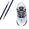 Navy Oval Athletic Lace