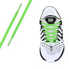 Neon Green Oval Athletic Lace
