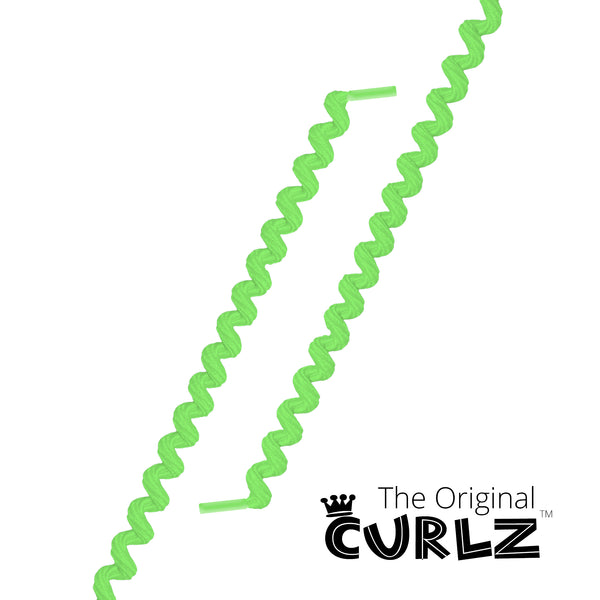 Neon Green Curlz™ No-Tie Lace