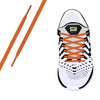 Neon Orange Oval Athletic Lace