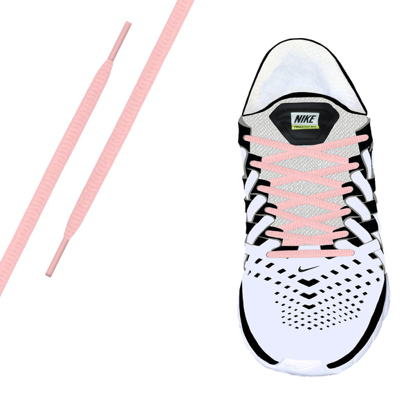 Pink Oval Athletic Lace