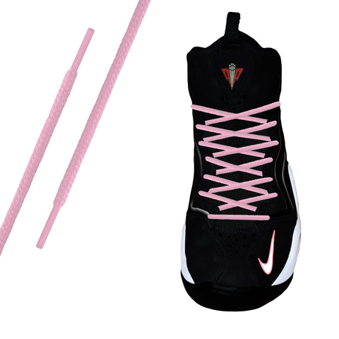 Pink Round Athletic Lace