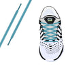 Pistachio Reflective Oval Athletic Laces