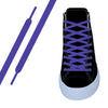 Purple Flat Athletic Lace