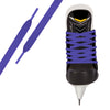 Purple Pro Waxed Hockey Skate Lace