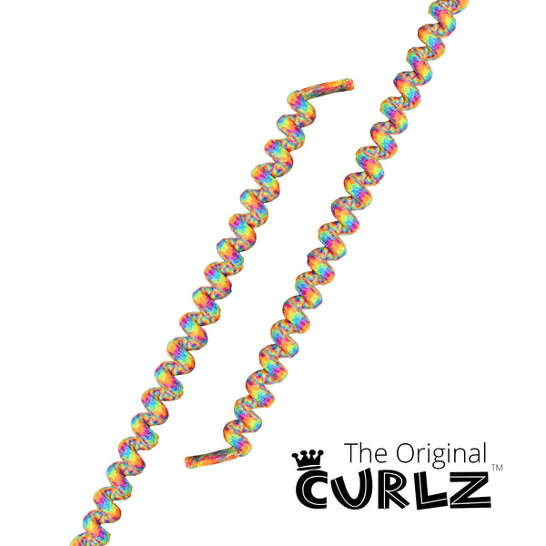 Rainbow Curlz™ No-Tie Lace