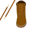 Rawhide Tan & Gold Heavy-Duty Pro Boot Lace