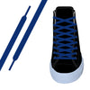 Royal Blue Flat Athletic Lace