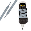 Sky Grey Pro Waxed Hockey Skate Lace