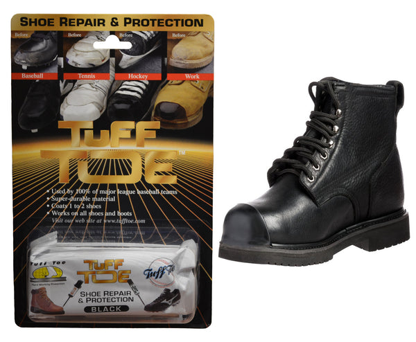 Tuff Toe Boot Guard Protection & Repair - Black
