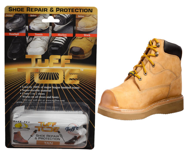 Tuff Toe Boot Guard Protection & Repair - Tan