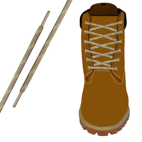 Tan/Gold Kevlar® Xtreme™ Round Boot Lace