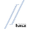 White Curlz™ No-Tie Lace