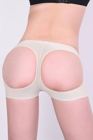 NUDE BUTT LIFTER SEXY CUTOUT BOYSHORT