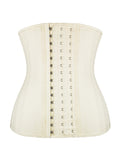 NUDE 25 STEEL BONED CORSET LATEX WAIST TRAINING CORSET